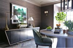 """Elements of Style Blog   Two """"Traditional"""" Spaces That Caught My Eye   http://www.elementsofstyleblog.com"""
