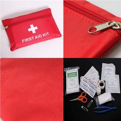 12-in-1 Applied First Aid Emergency Medical Kit Survival Wrap Gear Hunt Camp