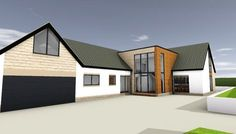 Bungalow extension ideas front view