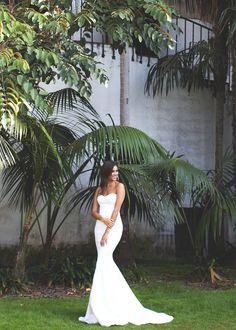 Positano || Shot by Christina Morgan || HMU by Taryn A Reed || #katiemay #therestoration #backless #modernbride #sexybride #bridetobe #backlessweddingdress #backlessweddinggown #bride #katiemaygiveaway