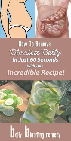How To Get rid of Bloated Stomach In Just 60 Seconds with This Incredible Recipe!