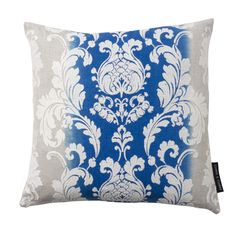 Camelia Damask Riviera Square Cushion
