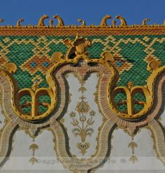 Hungarian State Treasury's Building, Budapest Zsolnay tiles and ...