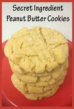 """Best Peanut Butter Cookies"" {Secret Ingredient Peanut Butter Cookies} ~ from Little Delights Cakes 