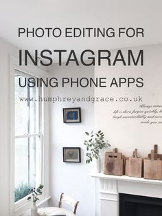 photo editing for Instagram | humphrey & grace