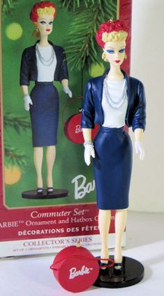 1999 Barbie Commuter Set Ornament