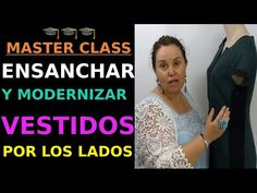 Widen a dress on the sides. Master Class, Youtube, Sewing, Pattern, Clothes, Dresses, Clothing Ideas, Style, Tutorials