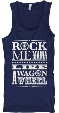 Wagon Wheel Tank Top Patriot Edition