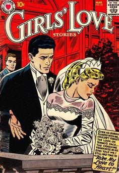 Girl's Love Stores Vol 1 Issue 53 #ComicBookWeddings