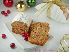 Cranberry Applesauce Bread is perfect when it comes to sharing Christmas recipes with those near and dear. Coffee filters and a festive ribbons make for quick and pretty packaging. Merry Christmas!