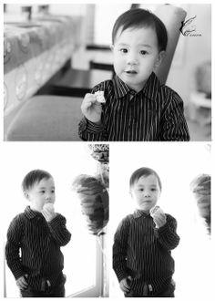 Handsome little boy!