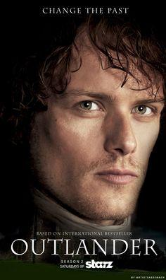 """Outlander Season 2 Poster: Jamie (Fan-made)"""""""