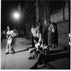 "intrepidish: "" Spanish Harlem, New York City, late 1940s early 1950s """