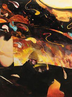 Adrian Ghenie Tropical Sky, 2015 oil on canvas x 67 in 230 x 170 cm - Nicodim Gallery Museum Of Contemporary Art, Contemporary Paintings, Adrian Ghenie, Abstract Art Images, Web Gallery, Cool Paintings, Cool Art, Artwork, Art Daily