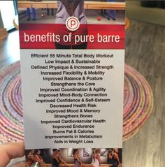 It's hard to resist taking a class at Pure Barre SouthPark with all these benefits! #PureBarreSouthPark #SpecialtyShopsSouthPark