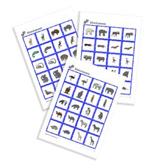 Shadow Maching Cards of the serie Zoo Animals. Memory Games, Animal Games, Zoo Animals, Free Printables, Memories, Cards, Memoirs, Souvenirs, Free Printable