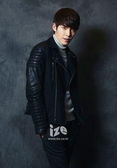 Kim Woo Bin - ize Magazine December Issue '13