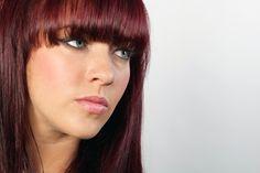 Feria's P67 Scarlet Power on Stephanie Davis (actress who plays Sinead O'Connor on Hollyoaks) www.loreal-paris.co.uk