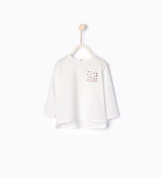 T-shirt with pocket-TOPS-BABY GIRL | 3 months-3 years-KIDS | ZARA United States