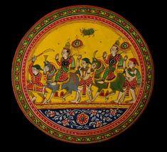 Ganjifa Indian Playing Cards