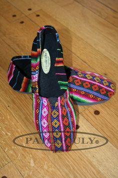 Alpargatas Aguayo Talles Colores Combinaciones Alpargatas de Aguayo marca PATCHOULY ,