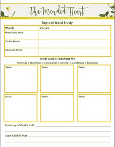 "#BibleStudySkills {Topical Word Study}: Use this FREE download and blog post to help walk you through the 8 steps of doing a ""Topical Word Study."" 