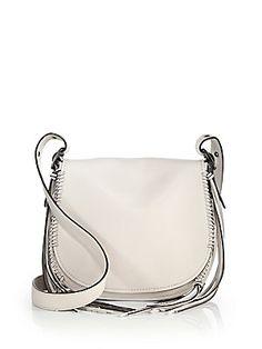 COACH 1941 Whipstitched Leather Saddle Bag