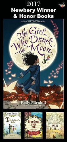 2017 Newbery Children's Book Award Winner Plus Honor Books