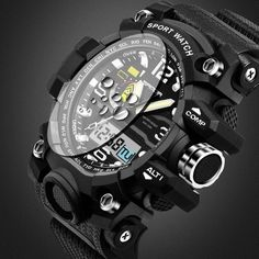 Cheap masculino, Buy Quality masculinos relogios directly from China masculino watch Suppliers: 2017 G Style SANDA Clock Mens Watches Top Brand Luxury Waterproof Sports Digital Quartz Watches Men S Shock Relogio Masculino G Shock, S Shock Watch, Mens Sport Watches, Watches For Men, Mens Luxury Brands, Leather Watch Bands, Automatic Watch, Digital Watch, Fashion Watches