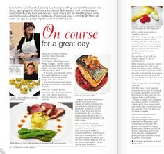 Here is an article about our business in the current issue of Brides Nottinghamshire. Catering Services, Brides, Homemade, Business, Food, Restaurant Service, Bride, Home Made, Diy Crafts