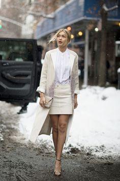 Gigi Hadid in Tory Burch at New York Fashion Week, shot by Youngjun Koo