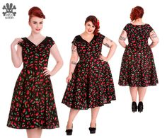 Cherry Pop 50s Dress