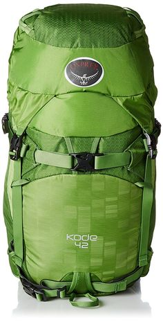 Osprey Packs Kode 42 Backpack * Discover this special outdoor gear, click the image : Backpacks for hiking Camping And Hiking, Backpacking, Internal Frame Backpack, Best Hiking Backpacks, Osprey Packs, My Shopping List, Outdoor Backpacks, Outdoor Gear, Skiing