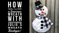 Watch how you can take a Dollar Tree item, Hobby Lobby Cat, or just use regular wreath frames to make a Snowman wreath with soft Chenille yarn. Dollar Tree Christmas, Christmas Tree Wreath, Snowman Wreath, Dollar Tree Crafts, Christmas Snowman, Christmas Tree Decorations, Christmas Crafts, Christmas Yarn, Snowman Decorations