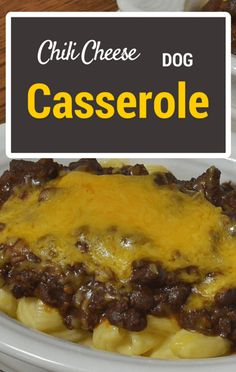 On The Chew, Michael Symon transformed an American classic into a casserole. His Chili Cheese Dog Casserole Recipe will make you wonder why you never thought of it before!