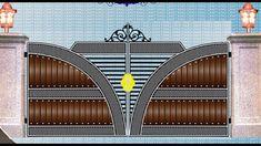 compound wall gate grill design 50 | Modern gate grill design | Gate Dou...