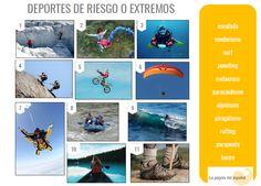 Deportes de riesgo o extremos