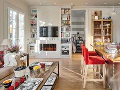 Kis földszinti lakás kertkapcsolattal és ötletes lakberendezéssel