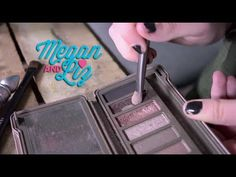 See how Megan does her eyeshadow, featuring our favorite colors from the Urban Decay Naked 2 Palette!! #Megan