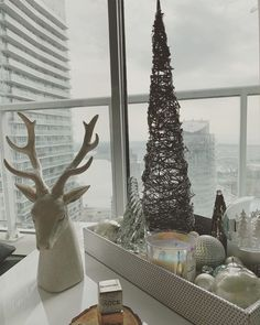 "Lucy Mazzulla on Instagram: ""🦌 🌲 🕯"" Baby On A Budget, Snow Globes, Instagram, Home Decor, Homemade Home Decor, Decoration Home, Room Decor, Interior Design, Home Interiors"