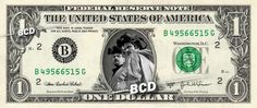 Breaking Bad Jesse Walter White - Real Dollar Bill Cash Money Collectible Memorabilia Celebrity Novelty Bank Note Dinero Currency by Vincent-the-Artist, $7.77 USD