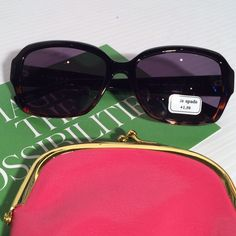 Kate Spade Tortoise & Black Reading Sunglasses New with tags. Comes with Kate Spade soft case. Strength:  +2.00. Black and tortoise. Soooo very sleek at a fraction of the price!! No trades. Price is firm.  No offers please. kate spade Accessories Glasses