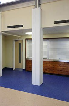 The n-case Quadra column casings maximise floor space by fitting closely to internal structural columns whilst allowing the maximum design flexibility. www.encasement.co.uk