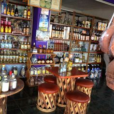 Tequila Shop in Tequila, Jalisco Mexico.