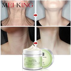 MEIKING Neck Cream Skin Care Anti wrinkle Whitening Moisturizing Firming Neck Care Skincare Health Neck Cream For Women Use:NeckIngredient:Lotus flower extract, bearberry leaves, Rhodiola extract, olive oilNET of Manufacture:ChinaType:Neck. Skin Tightening Cream, Firming Cream, Skin Care Cream, Oily Skin Care, Skin Firming Lotion, Creme Anti Rides, Neck Wrinkles, Neck Cream, Les Rides