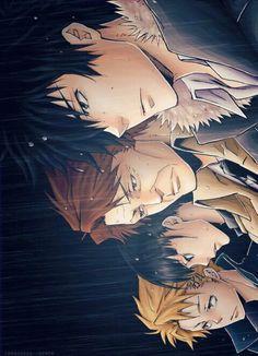*.* on We Heart It, psycho pass, kougami, Kagari, Kunizuka, Masaoka | Les Executeurs | Psycho Pass ♥