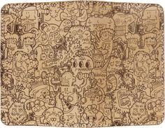Moleskin Cover | Artist Series by Diogo Machado, via Behance