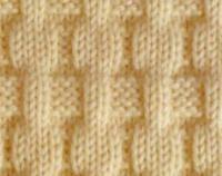 Вязание спицами узор изнаночная гладь №3999 схема