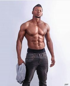 #Sexy #bodywork #man this is south african actor Vuyo Dabula, he must be putting in a lot of hard work, how chiseled is this body though? ... have mercy