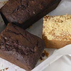 Sticky chocolate loaf